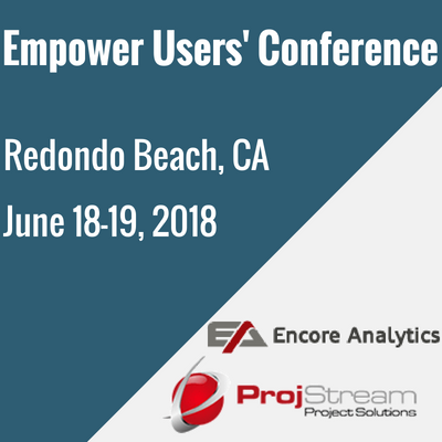 Empower Users' ConferenceJune 18-19, 2018Redondo Beach, CA (2)